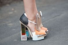 Balenciaga- I don't know what they're made of, but I lovvvvvve them!!!