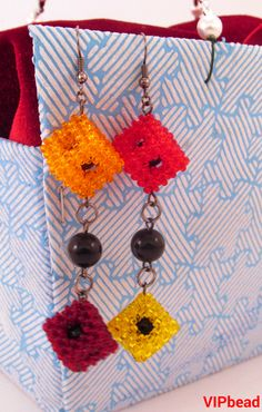 Free shipping ! 88.00 $ ! bead kits Beaded Necklace gift for women bead sets bead bracelet women beaded earring bead necklace cubes bead earring cubes modern jewelry