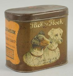 Flick and Flock Cigar Tin.