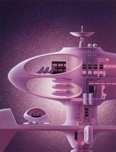 Sci-fi illustrations by Shusei Nagaoka part II