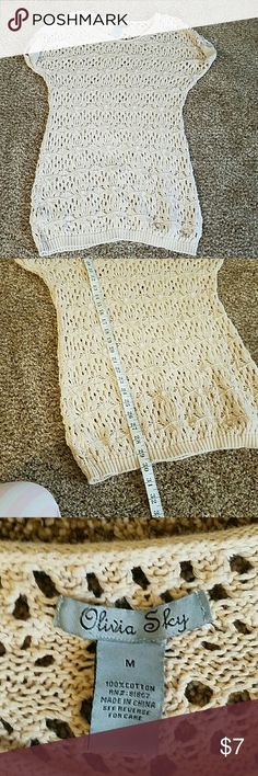 Olivia Sky -- long tunic sweater EUC , loop for belt (not included), I wore a wide belt with it with leggings and tank Olivia Sky  Tops Tunics