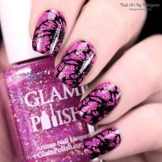 Nail Art by Belegwen: Glam Polish Special