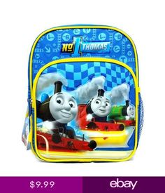 067374781aa Thomas   Friends 10 Mini Backpack School Bag for Toddlers Thomas Tank Engine