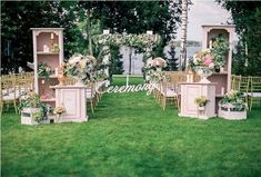 wedding aisle flowers Wedding Aisle Outdoor, Diy Outdoor Weddings, Garden Wedding Decorations, Aisle Flowers, Flower Backdrop, Wedding Rentals, Event Decor, Rustic Wedding, Entrance