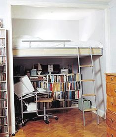 Amazing I Wonder If It Would Work To Have A Loft Bed Over A Walk In Closet? | DIY |  Pinterest | Lofts, Bedrooms And Room