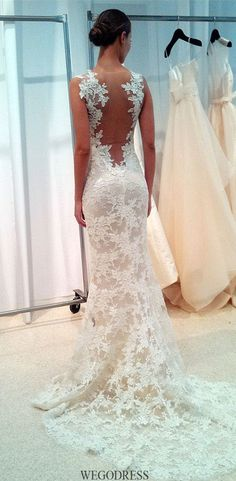 Cheap camouflage wedding dresses, Buy Quality lace wedding dress directly from China wedding dress Suppliers: Lace Wedding Dresses 2017 vestido noiva praia Backless Wedding Gowns Sheer Sweetheart Spring Mermaid Camouflage Wedding Dress Wedding Dress Pictures, Sexy Wedding Dresses, Wedding Attire, Bridal Dresses, Wedding Gowns, Tulle Wedding, Foto Wedding, Prom Gowns, Mermaid Wedding