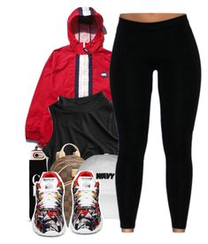 """""""Untitled #355"""" by nanuluv ❤ liked on Polyvore featuring BOSS Black, MICHAEL Michael Kors and Reebok"""