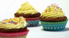 Top Recipes Collection: Lemon-Cream Cheese Cupcakes