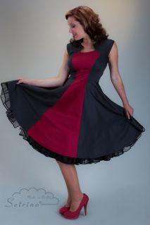 retro dresses petticoat kleider on pinterest. Black Bedroom Furniture Sets. Home Design Ideas
