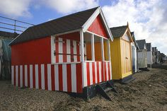Beach Huts -Southend on Sea