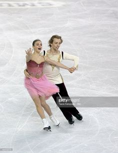 Kaitlin Hawayek and Jean-Luc Baker of USA skate in the short dance during Day One of the Progressive Skate America ISU Grand Prix of Figure Skating on October 23, 2015 at UW-Milwaukee Panther Arena in Milwaukee, Wisconsin.