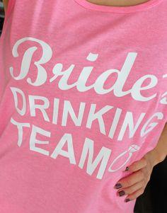 www.QualitatPrintService.com/Store Drinking, Bride, Tank Tops, Store, T Shirt, Women, Fashion, Drinks, Moda