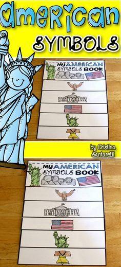 American symbols, Symbols and Lesson plans on Pinterest
