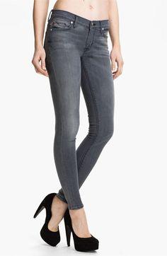 Hudson Jeans 'Nico' Skinny Stretch Jeans (Rakke) available at #Nordstrom #PinnedUp
