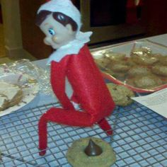 This bad Elf on the Shelf website is dedicated to helping you find the best funny and naughty elf on a shelf photos available! There is an Elf on the Shelf gone bad on the loose and we need your help. Christmas Candle, Christmas Elf, Christmas Cookies, Christmas Ideas, Christmas Stuff, Christmas Crafts, Christmas Decorations, Christmas Humor, Christmas Planning