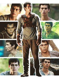 Dylan O'Brien in The Maze Runner