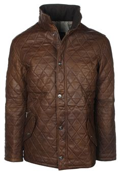 jacket waxed mens leather jackets classic style antique brown