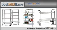 Chrome Steel Wire Shelving Racks For Storage - Steel Wire Shelves Units - Adjustable Open Wire Shelving Racks Units Systems Solutions Wire Rack Shelving, Wire Shelving Units, Wire Racks, Metal Shelves, Stainless Steel Wire, Storage Solutions, Chrome, The Unit, Things To Sell