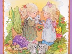 Precious Moments - cynthia-selahblue-cynti19 Wallpaper