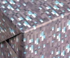 Wrap gifts in minecraft style