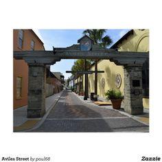 Aviles Street Postcard