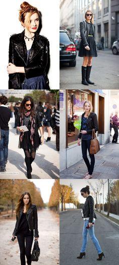 idéias....jaquetas de couro!!