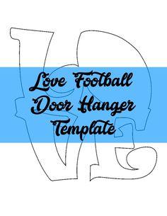 Truck Rear Door Hanger TEMPLATE Door Hanger Templates Pinterest - Wooden door hanger template