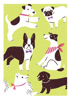 犬 dog puppy #DogIllustration