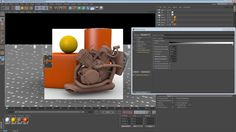 Five Minute Tip - Simple Gobal Illumination in Cinema 4D