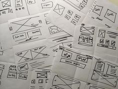 Design Process - Wireframing