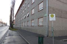 Filiale Nr. 46, Triester Straße 60: direkt im Gemeindebau, von außen kaum noch erkennbar.