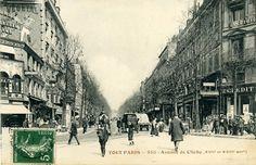 Début de l'Avenue de Clichy depuis la Place Clichy