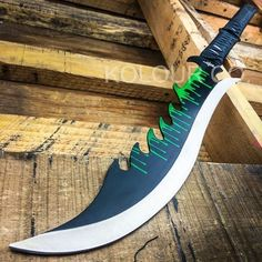 """28"""" TACTICAL SURVIVAL Fixed Blade ZOMBIE MACHETE Hunting Sword Full Tang Knife 70"""