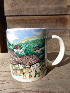 Honduras F Corea Village Life Cup Mug Coffee Tea Cocoa Hot Chocolate