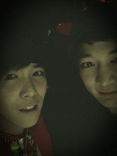 Ft island Hongki twitter update with Minho --- Who is this ugly fella? keke Dream girl daebak!!