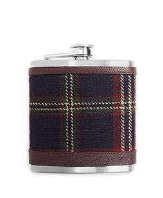 Brooks Brothers Tartan Flask