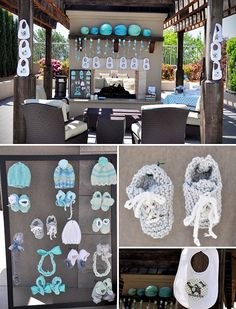 baby shower decorations for boys | Elephant Themed Baby Shower - On to Baby