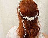 Flowers Redhead copper hair