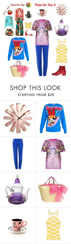 """""""Time for Tea 3"""" by alexxa-b ❤ liked on Polyvore featuring Umbra, Moschino, Boutique Moschino, Givenchy, Moroccan Prestige, RED Valentino, STELLA McCARTNEY, Yves Saint Laurent, tea and Time"""