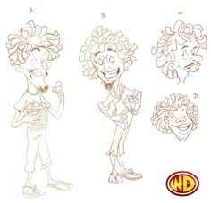 These were the four character options which our designer created for the concept of Cinema Pranthan.
