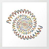 Smile Chain Art Print