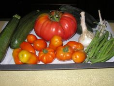 vegetable garden's natural products