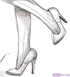 high heels drawing - Google keresés