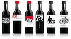 vin rouge bouteille design   Étiquettes de vin Étiquettes de bières Étiquettes de spiritueux ...