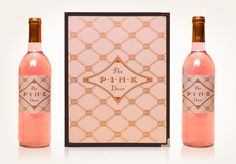 Louise Fili Ltd, Seattle Italian Restaurant.   More great pink packaging.