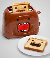 FredFlare.com - Domo Toaster - Japanese Brown Monster Toaster - Fred Flare