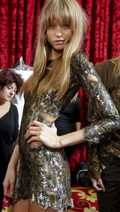 Abbey Lee Kershaw ♥ Balmain
