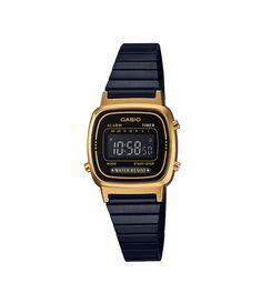 3c3e7677e5e Relógio Unissex Casio LA670WEGB 1BDF Vintage Digital - Lojas Renner