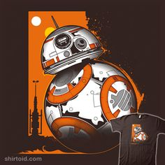 BB Rollin #bb8 #droid #film #inkone #movie #scifi #starwars