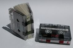 Books-on-Tape, by artist/book maker Woody Leslie